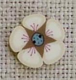 click here to view larger image of Tiny Colonial Cream Posy (buttons)