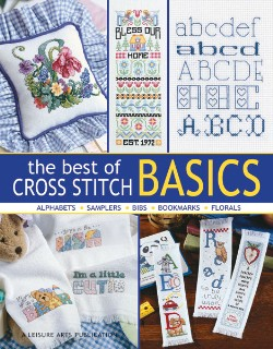 click here to view larger image of Best of Cross Stitch Basics, The  (book)