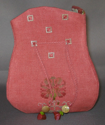 click here to view larger image of Autumn Etui Purse (counted cross stitch kit)
