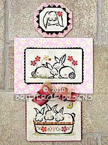 click here to view larger image of Bunnies Galore (chart with charms/buttons)