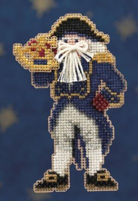 click here to view larger image of Captain Santa (2010) (counted cross stitch kit)