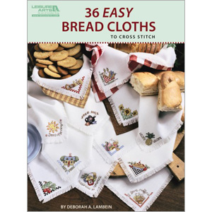 click here to view larger image of 36 Easy Bread cloths (chart)