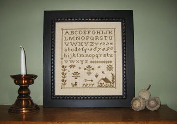 click here to view larger image of Prairie Girl's Sampler, A (chart)