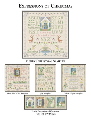 click here to view larger image of Merry Christmas Sampler (chart)