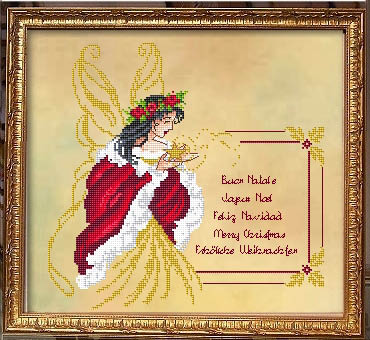 click here to view larger image of Fairy Christmas Greetings (chart)