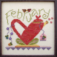 click here to view larger image of Tea Pot - February  (button pack)