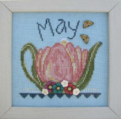 click here to view larger image of Tea Pot - May (button pack)