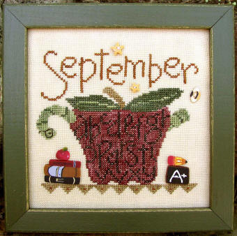 click here to view larger image of Tea Pot - September  (button pack)