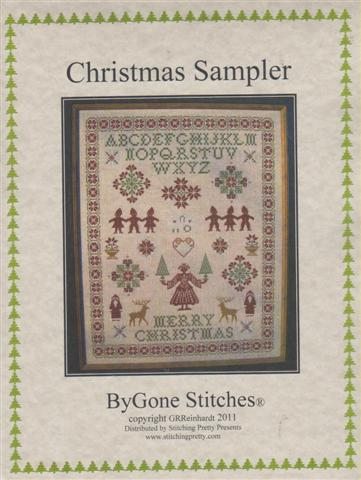 click here to view larger image of Christmas Sampler (chart)