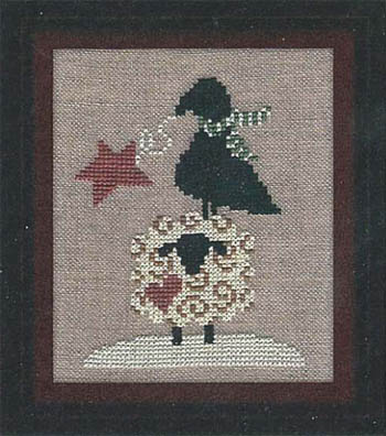 click here to view larger image of Christmas Crow Sheep Star (chart)