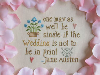 click here to view larger image of Just Married, The Jane Austen Way (chart)