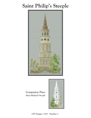 click here to view larger image of Saint Philip's Steeple (chart)