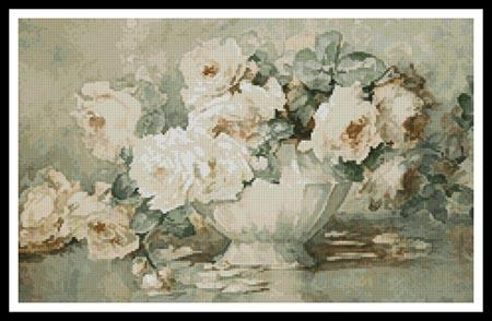 click here to view larger image of Antique Roses (chart)