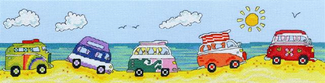 click here to view larger image of VW Fun (counted cross stitch kit)