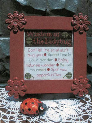 click here to view larger image of Wisdom of the Ladybug (chart)