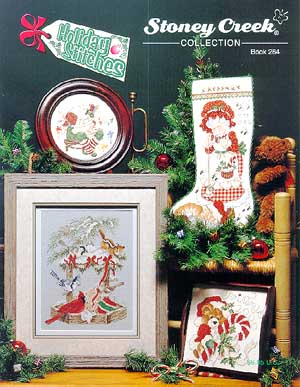 click here to view larger image of Holiday Stitches (book)