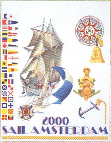 click here to view larger image of Amsterdam 2000 (counted cross stitch kit)