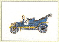 click here to view larger image of Antique Car (counted cross stitch kit)