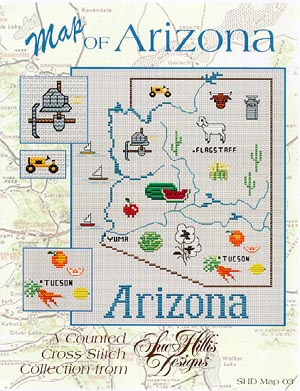 click here to view larger image of Arizona Map (chart)
