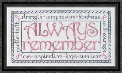 click here to view larger image of Always Remember (chart)