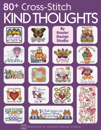 click here to view larger image of 80+ Cross Stitch Kind Thoughts  (chart)
