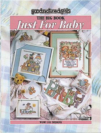 click here to view larger image of Big Book Just for Baby (book)